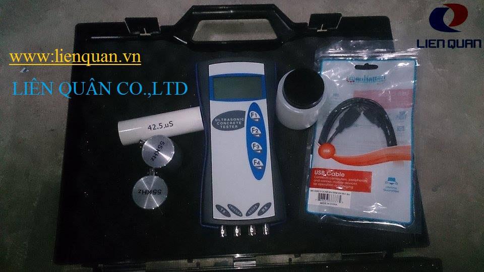 máy siêu âm bê tông, may sieu am be tong, thiết bị siêu âm bê tông, máy siêu âm bê tông hiện trường