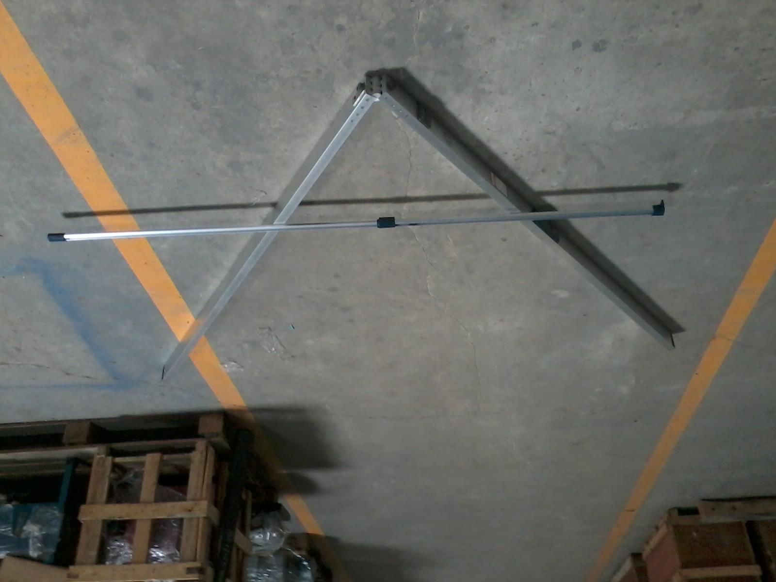 thước đo độ võng của mặt đường, thước 3m thước đo độ võng