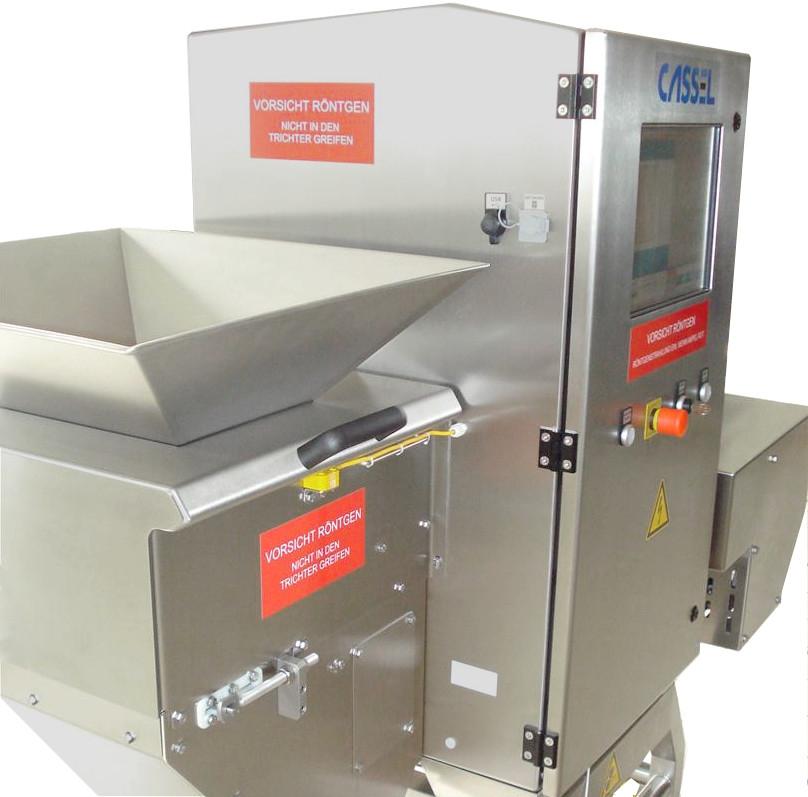 Máy dò tạp chất X-ray cho sản phẩm dạng hạt, viên, máy dò tạp chất X-ray