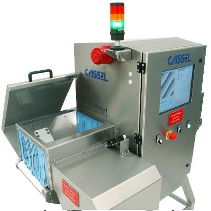 máy kiểm tra tạp chất X-quang cho sản phẩm đóng gói nhỏ, máy dò tạp chất X-quang cho thực phẩm
