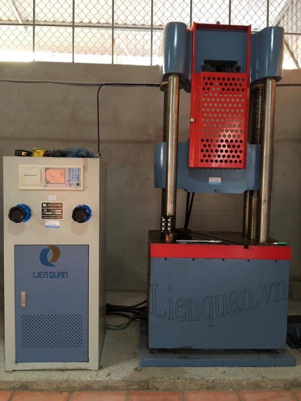 máy kéo thép điện tử 1000kn, máy kéo thép, maykeothep.com, máy kéo nén vạn năng, máy kéo thép thí nghiệm